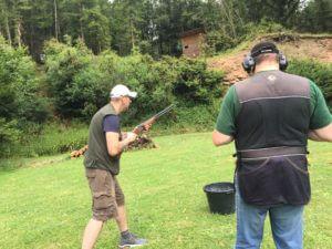 Flintentraining in Lauterbach Skeet und Trap